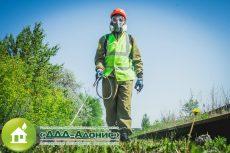 Уничтожение сорной растительности гербицидами
